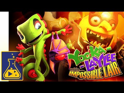 Yooka-Laylee and the Impossible Lair: Reveal Trailer thumbnail