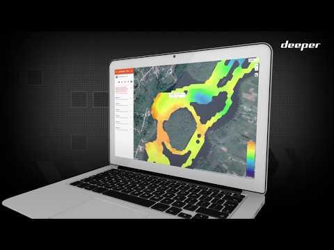 Sonārs Deeper Smart Sonar PRO+ komplekts ar 5 Powerbait gumijas mānekļiem un Blutbombette zivju pievilinātāju cena un informācija   Smart ierīces un piederumi   220.lv