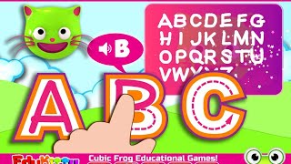 EduKitty ABC! Letter Tracing Educational Brain Games Android Kids Games Video