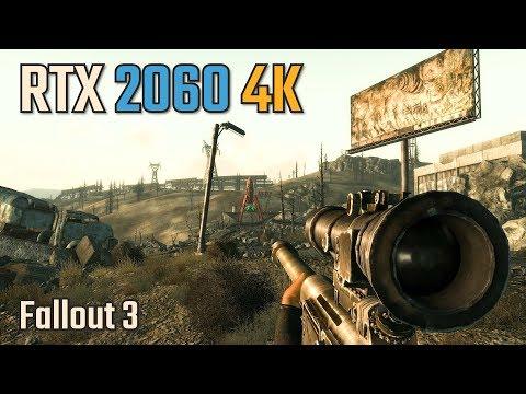 測試RTX 2060 在4K畫質下玩Fallout 3