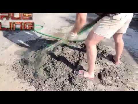 Замес бетона вручную 3 способа