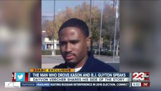 Man driving car when five-year-old was shot and killed, speaks