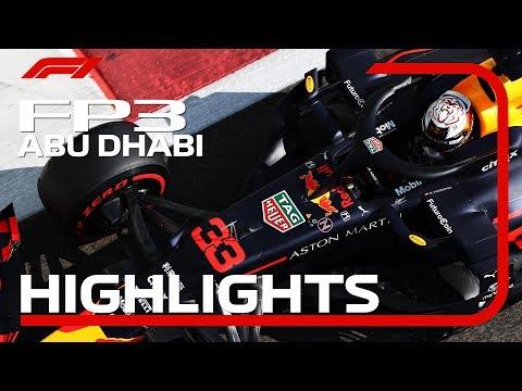 【F1 FP3ハイライト動画】F1 2019 第21戦アブダビGP フリープラクティス3