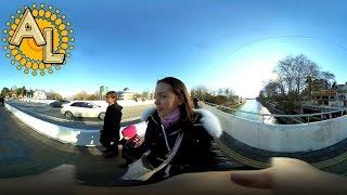 360: По дороге на пляж Ривьера Сочи | Видео 360