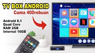 Android TV Box cuma 400rebuan.! BISA APA.? Review Alfawise A8 Indonesia