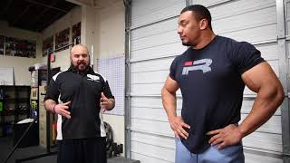 How to Deadlift with Larry Wheels and Coach Gaglionestrength