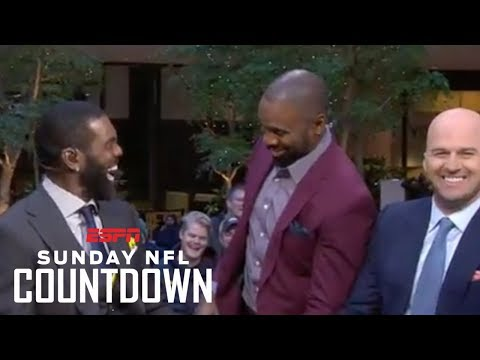 Being a Hall of Famer 'means a lot' to Randy Moss | NFL Countdown | ESPN