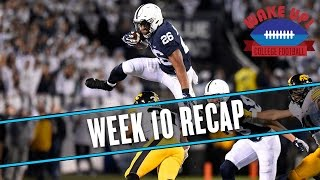 Wake Up College Football - Week 10 Recap thumbnail