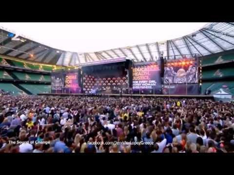 Jennifer Lopez - On The Floor - The Sound of Change Live