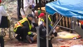 Boston Marathon Explosions: Several Injuries Reported After Bombings Near Race's Finish Line