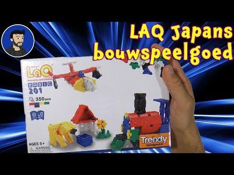 Laq - Japans bouwspeelgoed. Gekregen van Trendyspeelgoed.nl