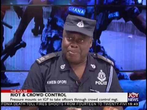 Riot & Crowd Control - The Pulse on JoyNews (12-11-18)
