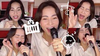 """MONG ANH VỀ live: full clip bắt nguồn cho trend """"chị Thu Minh hát nhẹ nhàng cho bé Gấu ngủ"""""""