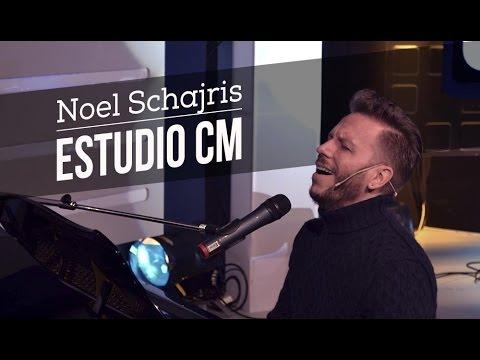 Noel Schajris video Estudio CM  - Entrevista y Acústico - 2014