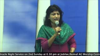 19-11-14 Bible Study  On Sanctification Series By Pastor Pramila Jeyaraj