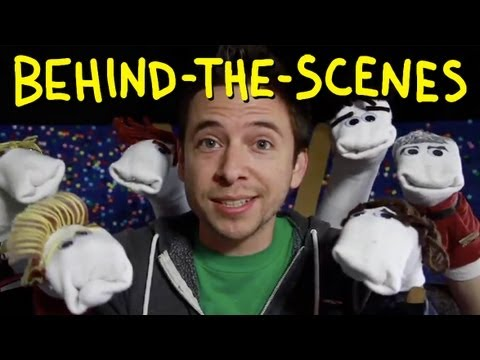 One Direction 1D3D Movie Trailer - Homemade with Sock Puppets (Behind The Scenes)