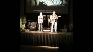 Zach and kristi singing at IJM