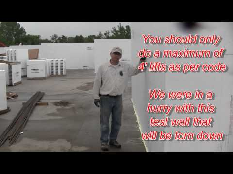 How strong is the Fox Blocks corner 3 of 3 Insulated Concrete Forms.wmv