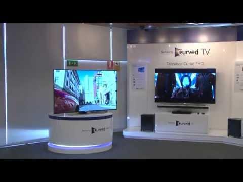 Qué ventajas tiene un televisor de pantalla curva: Sensación 3-D, visión natural...
