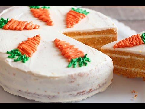 Gâteau aux carottes sans farine ni beurre