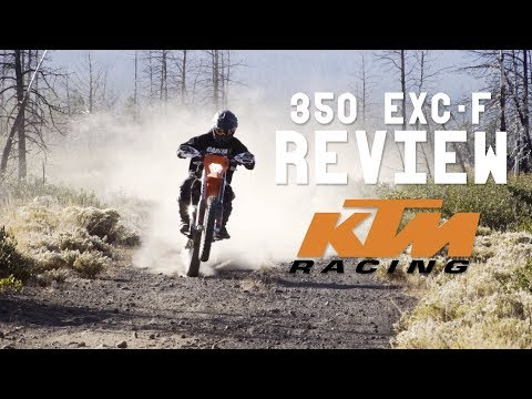 2018 KTM 350 EXC-f Review + Ride