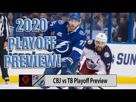 Columbus Blue Jackets vs Tampa Bay Lightning Playoff Preview 2020