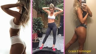 Grace Eisiminger Fitness Model Gym Workout Routine for Lean Muscle
