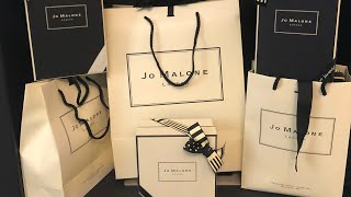 Jo Malone London Huge Unboxing