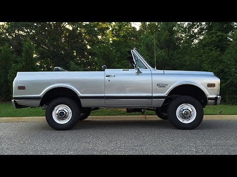 1970 Chevrolet K5 Blazer CST 350 4x4 Body Off Restoration Project