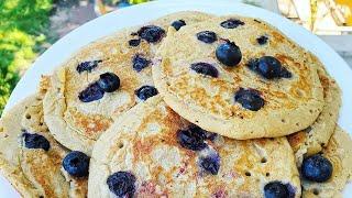 Best Ever Gluten-Free Vegan Pancakes!! 4 Ingredients