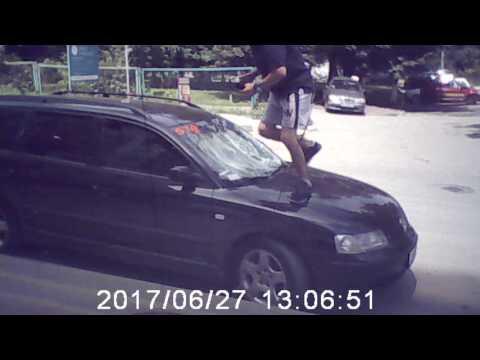 Нападение на автомобилиста в Черновцах