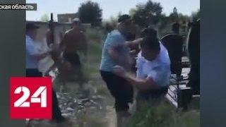 Агрессивный вандал громил кладбище в Ростове-на-Дону - Россия 24