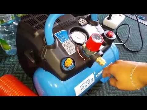 Güde Airpower air compressor 6l tank 8 bar [UNBOXING]