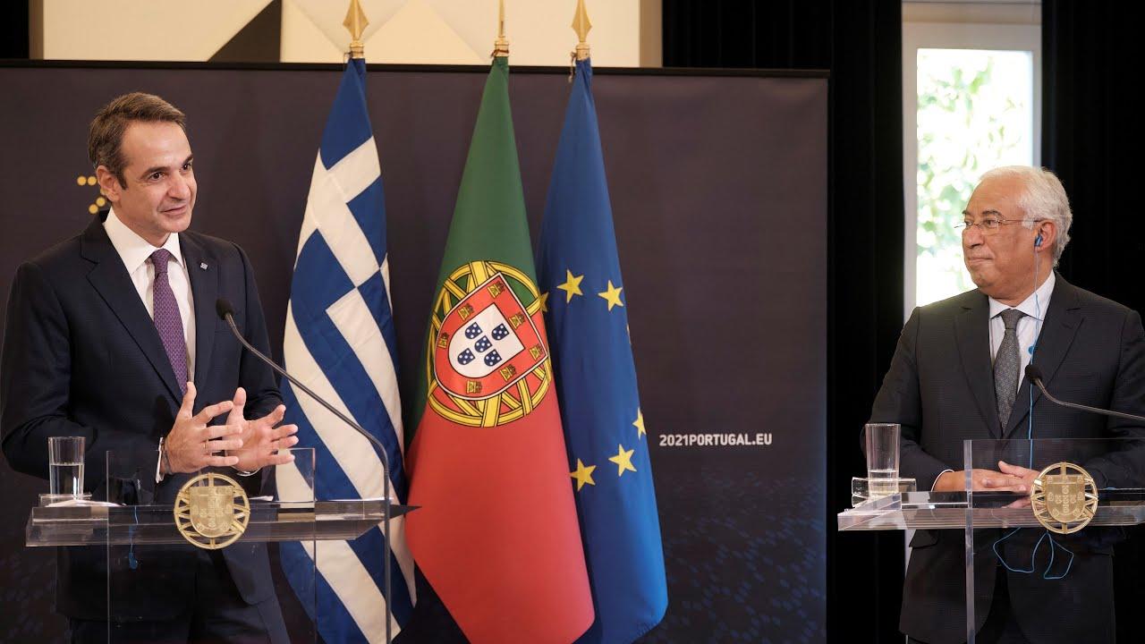 Κοινή συνέντευξη τύπου | Κυριάκος Μητσοτάκης – António Costa