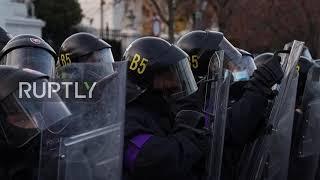 Slovakia: Thousands protest COVID-19 restrictions on 31st anniv. of Velvet Revolution
