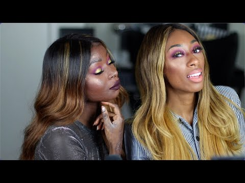 Shalom teaches me makeup!- Behind the Scenes