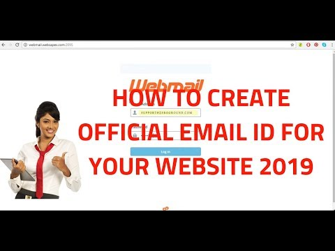 How to create official email id for your website 2019