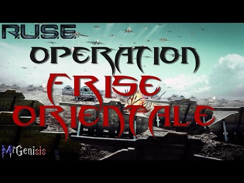 Let's play [FR] R.U.S.E. - Opération Frise Orientale