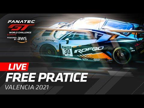 ブランパンGT 2021 バレンシア GT フリープラクティスのライブ配信動画