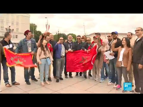 Moroccan fans still hopeful team can win match against Spain