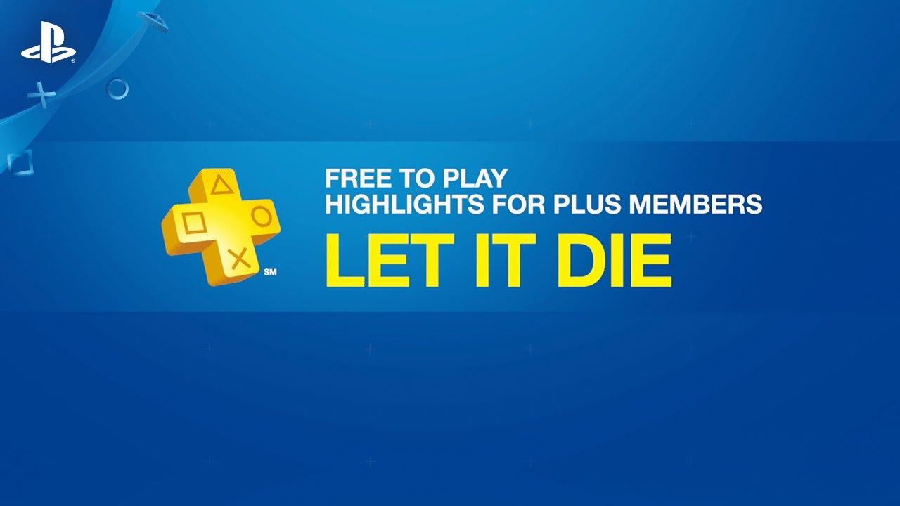 PS Plus: Let It Die Booster Pack, 3 Bonus Months