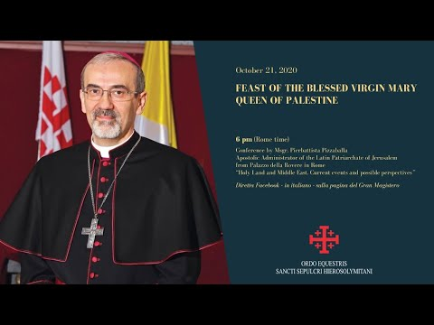 "Video: Live Conference ""Holy Land and Middle East. Current events and possible perspectives"""