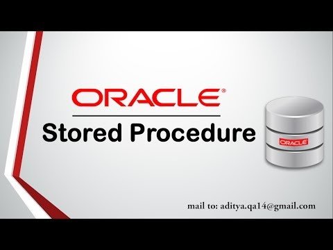 PL/SQL tutorial | Stored Procedure in Oracle Database 11g Complete guide