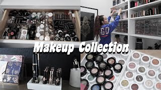 GOING THROUGH MY ENTIRE MAKEUP COLLECTION.... WOAH