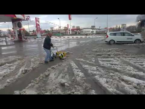 Kar Temizleme ve Kar Küreme Arabası, Pratik Kar Küreme