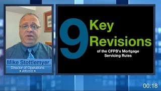 Risk Watch 105: New Mortgage Service Rules in 5 Minutes or Less
