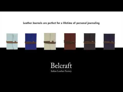 Belcraft olasz bőrkötéses füzet