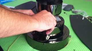 How to install Westinghouse 3 Blade Ceiling Fan Alloy Gun Metal 42''/105cm