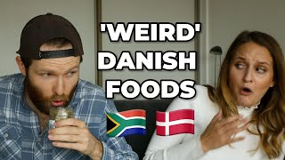 SOUTH AFRICANS TRY 'WEIRD' DANISH FOOD!