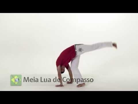 Meia Lua De Compasso Tutorial - Versão Português de Capoeira Vibe aplicativo Mestre Parente